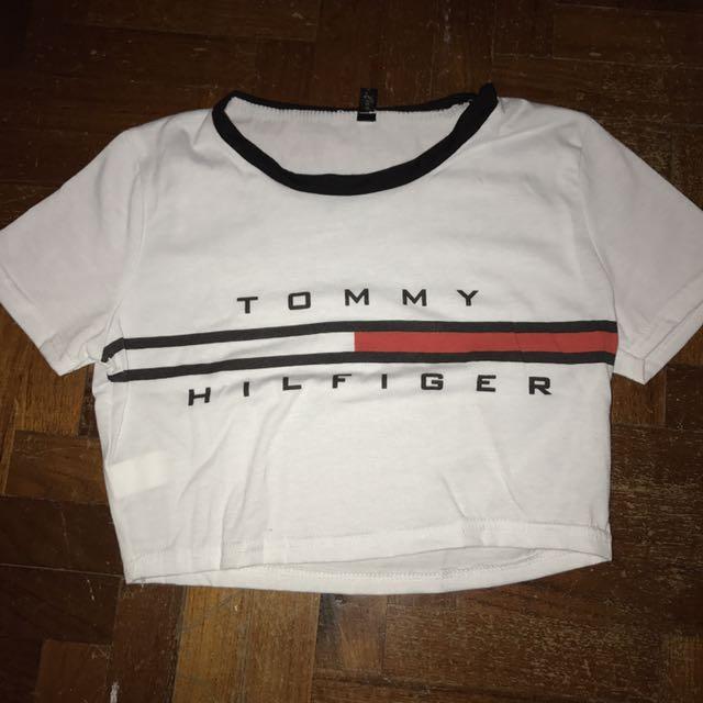 957eda679bfce Tommy Hilfiger crop top