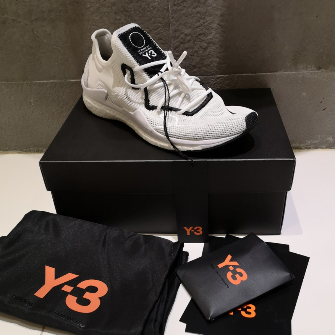 4d7cffa9f31a UK8  adidas Y-3 Adizero Runner sneakers (White)
