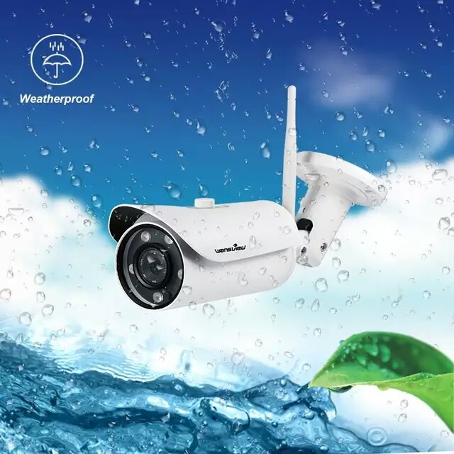 Wansview W1 Outdoor IP Camera 2 0mp 1080P WiFi Wireless IP Security Bullet  Camera IP67 Waterproof