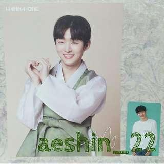 WANNA ONE SG JISUNG SET