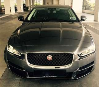 Jaguar XE 2018 for Hire. SPECIAL WEEKLY RATE!