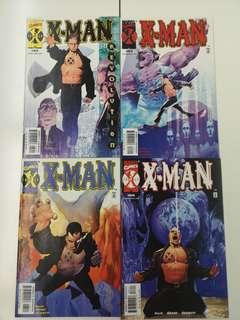 X-Man (1995) No Direction Home Comics Set