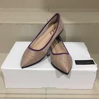 Ittaherl Purple Flat Shoes