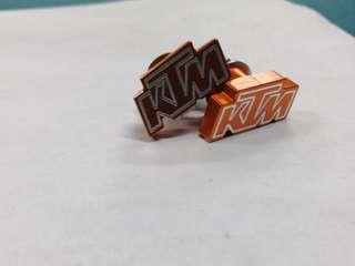 Ktm number plate bolts