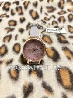 🚚 OLIVIA BURTON MIDI AMETHYST LILAC ROSE GOLD WATCH 30MM