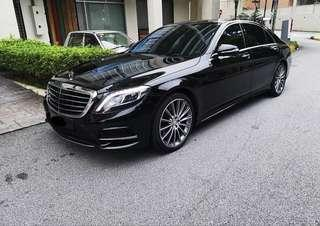 Merc S500 2018 for rent/hire