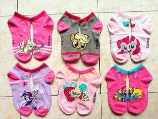 🚚 BN my little pony ankle socks 7 to 9yo