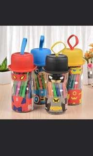 Kids Marker In Cute Carrying Holder