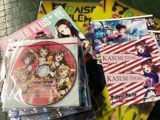 BanG dream 12.12 CD大量發售