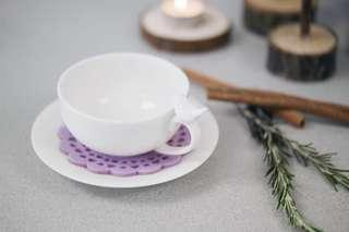 花茶杯 Ceramic Tea Cup & Saucer