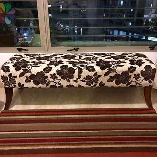 Barang Barang Fabric Sofa Bench/Ottoman