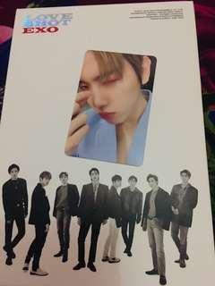 Baekhyun Love Shot Photocard