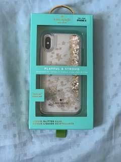Brand New Kate Spade case for iphone X/Xs