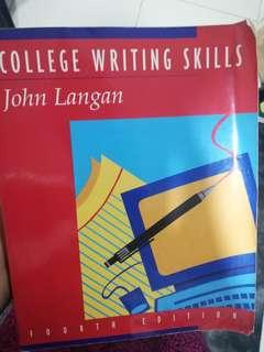 College Writing Skills by John Langan