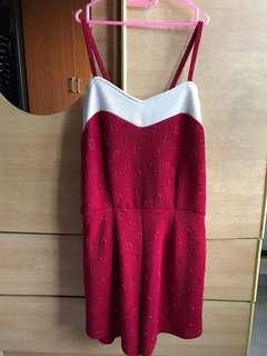 Beautiful Red Romper for CNY
