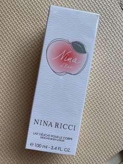 Perfumem nina ricci body lotion