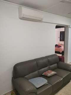 1+1 blk 157 yishun Furn 2AC beside MRT only $1350!