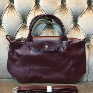 💯Authentic Longchamp Le Cuir (small)