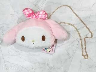 🚚 🤩 My Melody Furry Sling Bag 🤩 [INSTOCK]