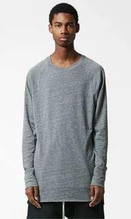 Fear of god essentials fog raglan long sleeve tee