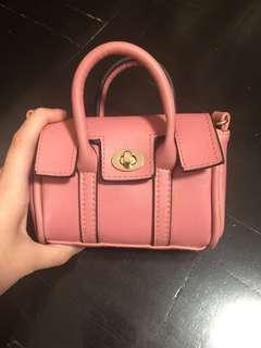 PINK MINI SLING BAG