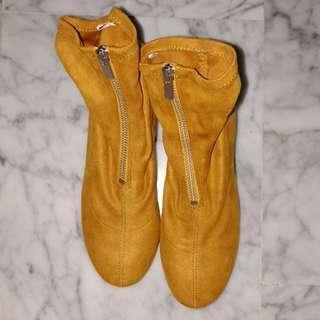 H&M Autumn front zip up boots