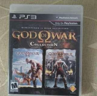 God of War collection PS 3