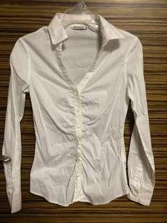 Terranova White Slimfit Polo