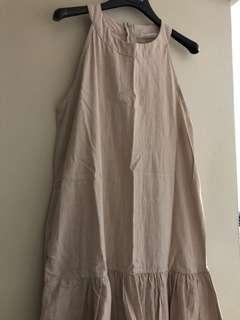削肩魚尾洋裝