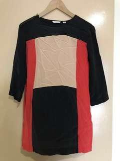 Silk Shift Dress #JAN55
