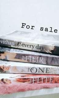2nd Hand Books for sale!! (negotiable price)