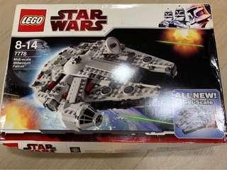 Lego Star Wars 7778 壓扁左盒 未開封 落offer 前留意