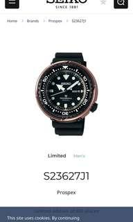 Buying in luxury watch