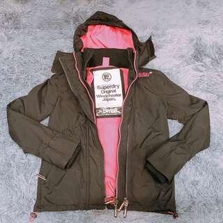 🚚 Superdry 極度乾燥 三層拉鍊風衣外套