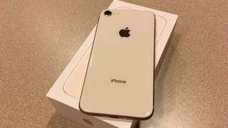 iPhone 8 - gold. 64 gb