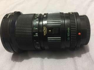 Canon FD 35-105mm