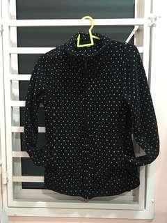 Uniqlo polka dot jacket