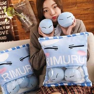 [PO] Rimuru Tempest Plush Tensei shitara Slime Datta Ken That Time I Got Reincarnated as a Slime Soft Toy Plushie Pillow Tensura
