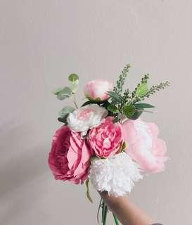 Artificial flower Handbouquet