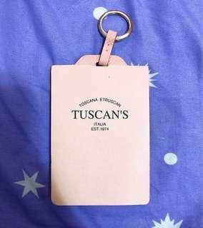Tuscan's 真皮行李牌
