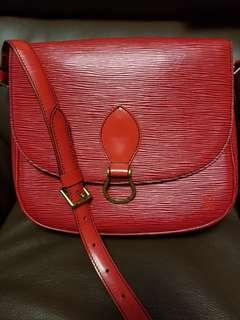 (一口價✔$1800) LV epi 水波紋 樹紋 中古紅色大size袋 馬包