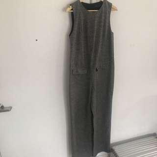 Zara Sleeveless One Piece Pantsuit