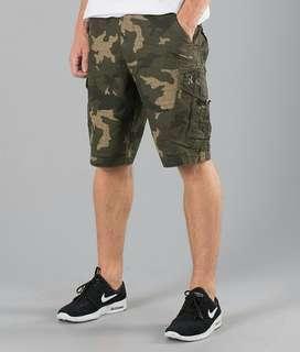 Celana pendek cargo fox original