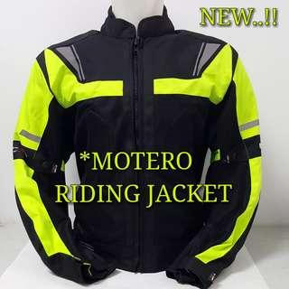 RIDING/TOURING MOTERO JACKET..😎!!