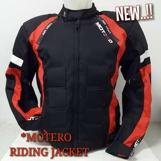 RIDING/TOURING MOTERO JACKET..😎👍👍!!