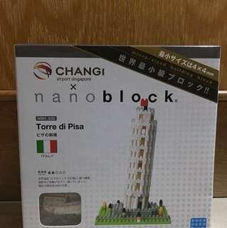 BNIB Nanoblock NBH_030 Torre di Pisa