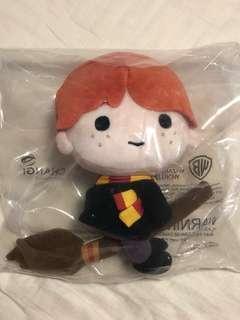 Changi Airport Harry Potter Ron Weasley Plush
