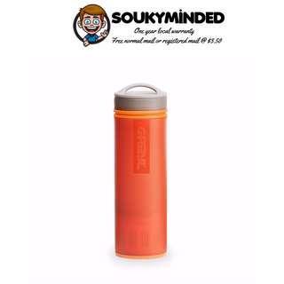 [IN-STOCK] GRAYL Ultralight Water Purifier [+ Filter] Bottle - Orange