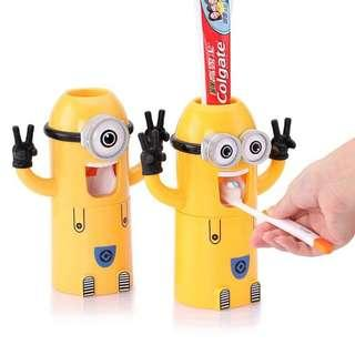 Cute Despicable Minion Toothpaste Dispenser