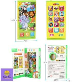 多功能有趣早教双面手机 | Multifunction Interesting Early Learning Double-sided Mobile Phone